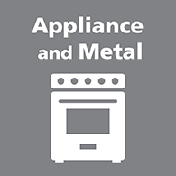 Appliance and metal link image
